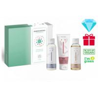 Naïf Baby & Kids Newborn Essentials rinkinys - 3 produktų rinkinys naujagimiui