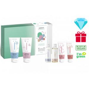 Naïf Baby & Kids Starter Kit–6 produktų rinkinys naujagimiui