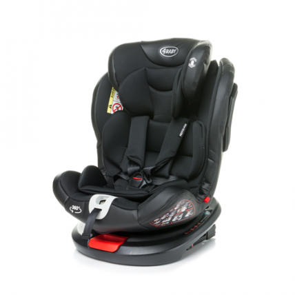 4Baby Roto-Fix Black Child automobilio kėdutė 0-36 kg
