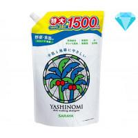 """Saraya """"Yashinomi"""" vaisių, daržovių ir indų ploviklis papildymas 1500ml"""