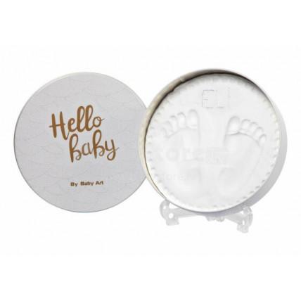 Baby Art Magic Box nuotraukų rėmelis rankų ar kojų atspaudams gaminti