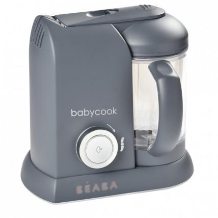 Beaba Babycook Solo 912794 Dark Grey tamsiai pilkos spalvos maisto trintuvas
