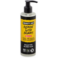 """Beauty Jar """"Blonde with brains''-balm for blond hair 250ml"""