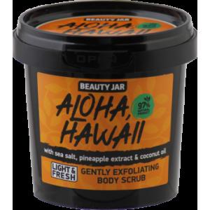 "Beauty Jar ""Aloha, hawaii''-delikatus kūno odos šveitiklis 200g"