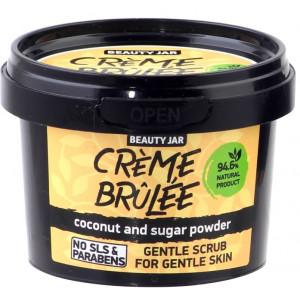 """Beauty Jar """"Creme brulee""""-švelnus šveitiklis švelniai odai 120g"""