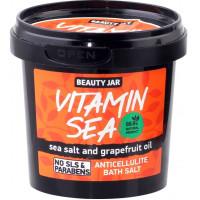 """Beauty Jar """"Vitamin Sea""""-anticeliulitinė druska voniai 200g"""
