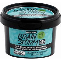 """Beauty Jar """"Brainstorm""""-valomasis galvos odos šveitiklis 100g"""