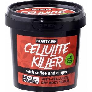 """Beauty Jar  """"Cellulite killer""""-anticeliulitinis sausas kūno šveitiklis 150g"""