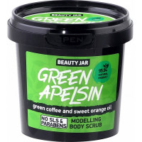 """Beauty Jar """"Green Orange""""-modeliuojantis kūno šveitiklis 200g"""