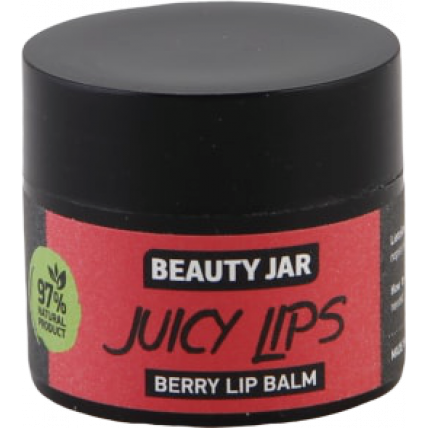 "Beauty Jar ''Juicy lips"" lūpų balzamas su uogomis 15ml"
