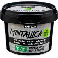 """Beauty Jar """"Mintallica''-gaivinantis šveitiklis galvos odai 100ml"""