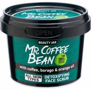 Beauty Jar Mr.Coffee Bean veido šveitiklis 50g