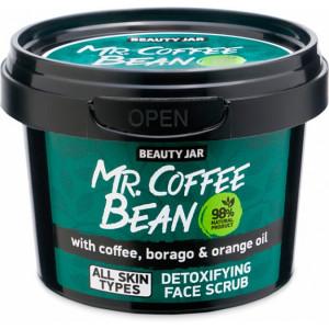 Beauty Jar Mr.Coffee Bean veido šveitiklis 50g