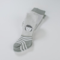 BeSnazzy RA10 Vaikiškos medvilninės pėdkelnės su ABS
