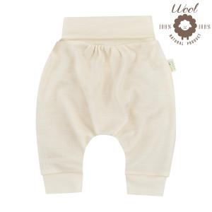 Bio Baby Vaikiškos merino vilnos kelnės su plačiu diržu