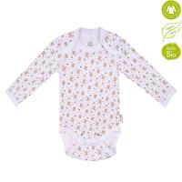 Bio Baby Vaikiškas organinės medvilnės bodis ilgomis rankovėmis