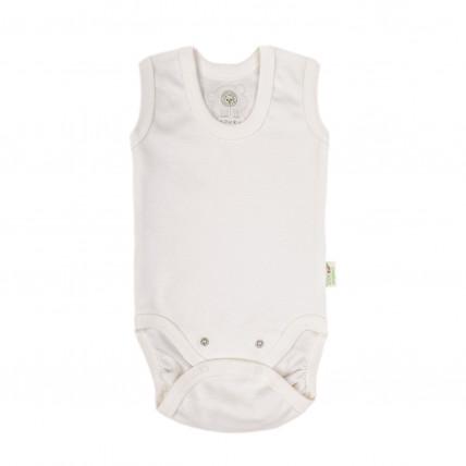 Bio Baby Vaikiškas organinės medvilnės bodis be rankovių