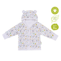 Bio Baby Vaikiškas organinės medvilnės džemperis su gobtuvu
