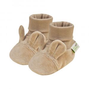 Bio Baby Vaikiški veliūriniai organinės medvilnės bateliai