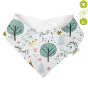 Bio Baby Vaikiškas organinės medvilnės seilinukas/servetėlė