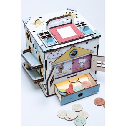 Boobo Toys Busy Cube Medium Cubes
