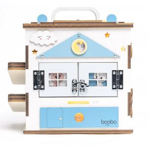 Boobo Toys Busy Cube Medium užimtumo kubelis berniukams
