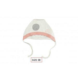 Cango Kepurė naujagimiams, DOTS dydis 38, 100% medvilnė