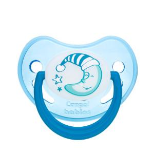 Canpol Babies Night dreams 22/501 silikoninis ortodontinis čiulptukas (spenelis), skirtas 6–18 mėnesių vaikams
