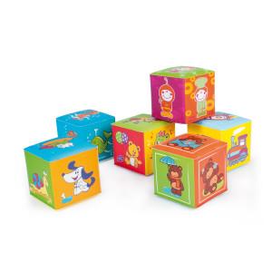 Canpol babies 2/817 Soft educational cubes