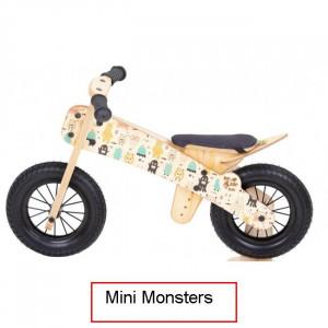 Dip Dap Mini MONSTERS Medinis balancinis 2–4 metų vaikams