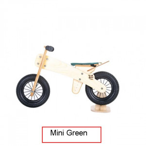 Dip Dap Mini GREEN Medinis balancinis 2–4 metų vaikams