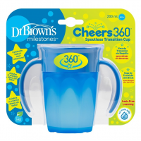 Dr.Browns TC71004 gertuvė , nuo 6 mėn., 300ml, mėlyna