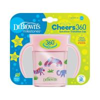 Dr.Browns TC71005 Vaikiškas edukacinis puodelis