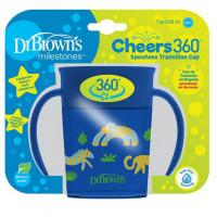 Dr.Browns TC71006 Vaikiškas edukacinis puodelis