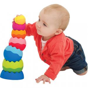 Fat Brain Toys FA070-1 Žaislinė piramidė