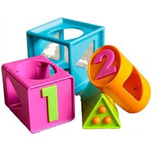 Fat Brain Toys FA179-1 Smarty cube 1 2 3 - gudrutis kubas