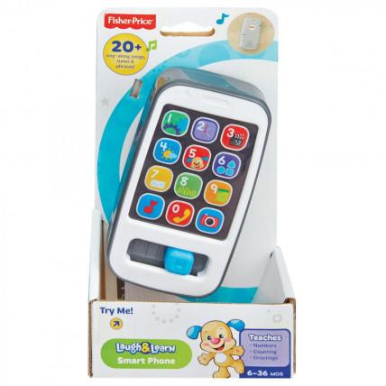 Fisher Price DLM32 Interaktyvus žaislinis telefonas