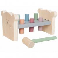 JaBaDaBaDo C2517 Medinis mokomasis žaislas – plaktukas