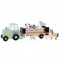 JaBaDaBaDo W7151 Medinis traktorius