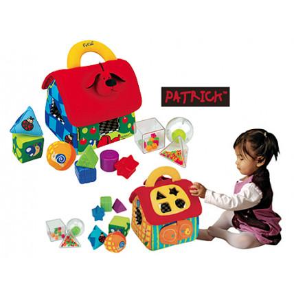 """KS Kids KA10460 Figūrėlių rūšiavimo žaislas """"Patriko namai"""""""