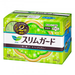 Laurier 4* higieniniai dieniniai ploni įklotai su sparneliais 20.5cm 28vnt