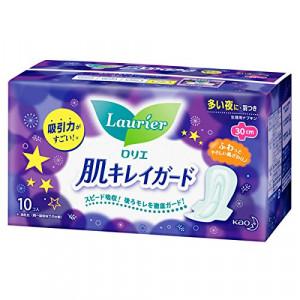 Laurier 4* higieniniai naktiniai įklotai su sparneliais 30cm 10vnt