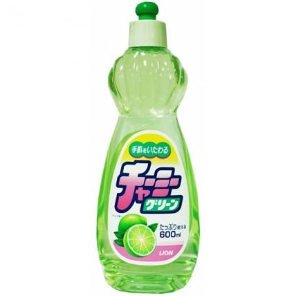 Lion Charmy Green citrinų kvapo indų ploviklis 600ml