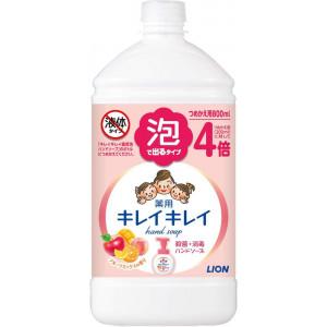 """Lion """"KireiKirei"""" vaisių aromato, putojantis skystas muilas papildymas 800ml"""
