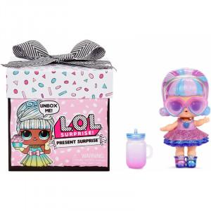 LOL Surprise Present Surprise Doll Lėlė su 8 staigmenėlėmis