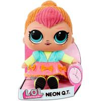 LOL Surprise FL22902 Neon Q.T. minkšta pliušinė lėlė, skirta apsikabinti