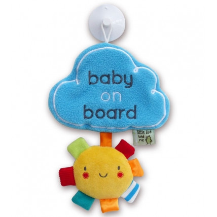 "Little Bird Told Me LB3061 ""Baby on Board"" siurbtukas, skirtas naudoti automobilyje"