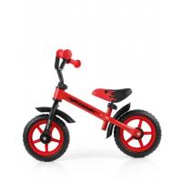 Milly Mally Dragon Vaikiškas balansinis dviratis su metaliniu rėmu