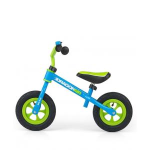 Milly Mally Dragon Vaikiškas balansinis dviratis su metaliniu rėmu ir pripučiamomis padangomis