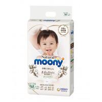 Sauskelnės MOONY Natural M 6-11 kg
